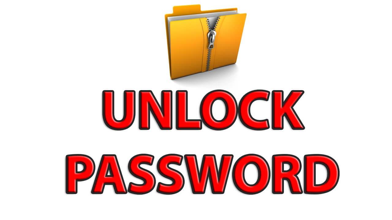 Password to extract weashare